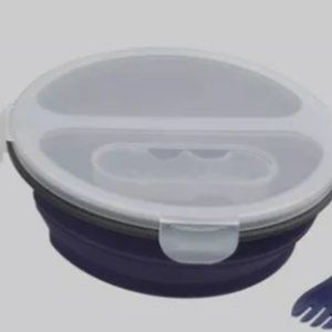 Collapsible Silicone Storage Bowl